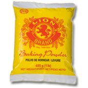 lion baking powder