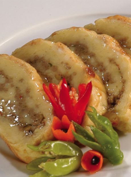 Breadfruit and Minced Meat Roll Recipe