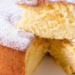 Orange Pine Sponge Cake Recipe