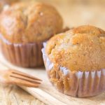 Wholewheat Banana Muffins Recipe